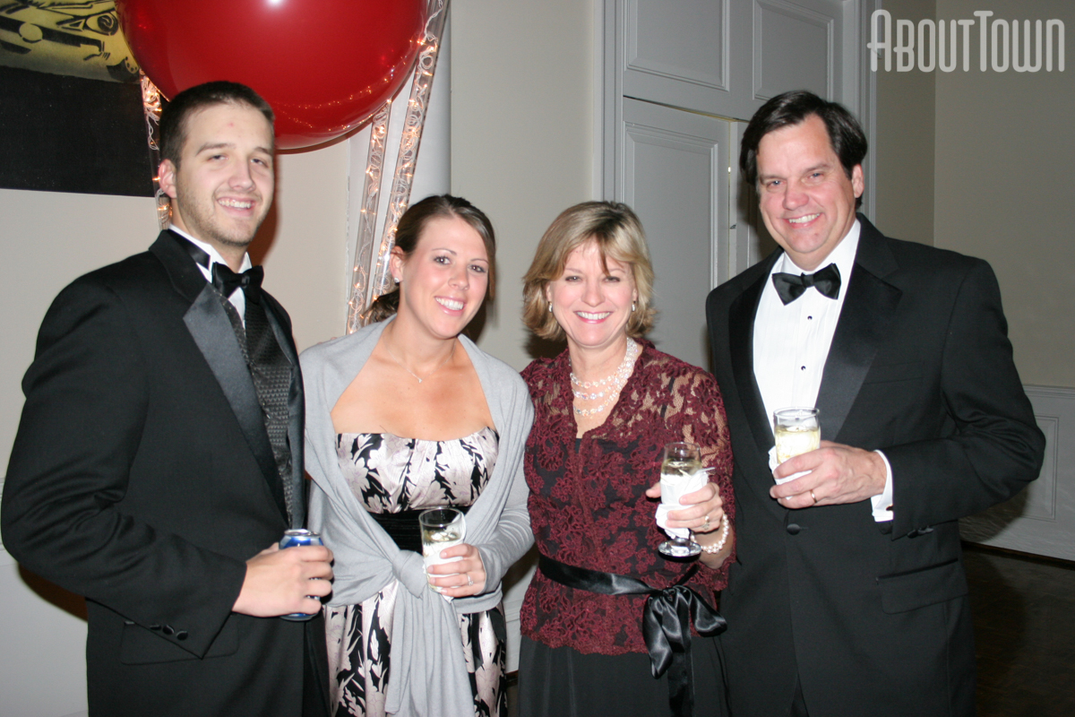 Andrew Willoughby, Laura Kirk, HIlton and Tricia Tomlinson