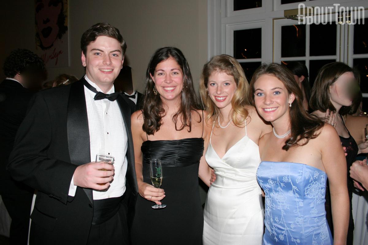 Charles Scribner, Mary Bynum, Elizabeth Yates, Virginia Yates