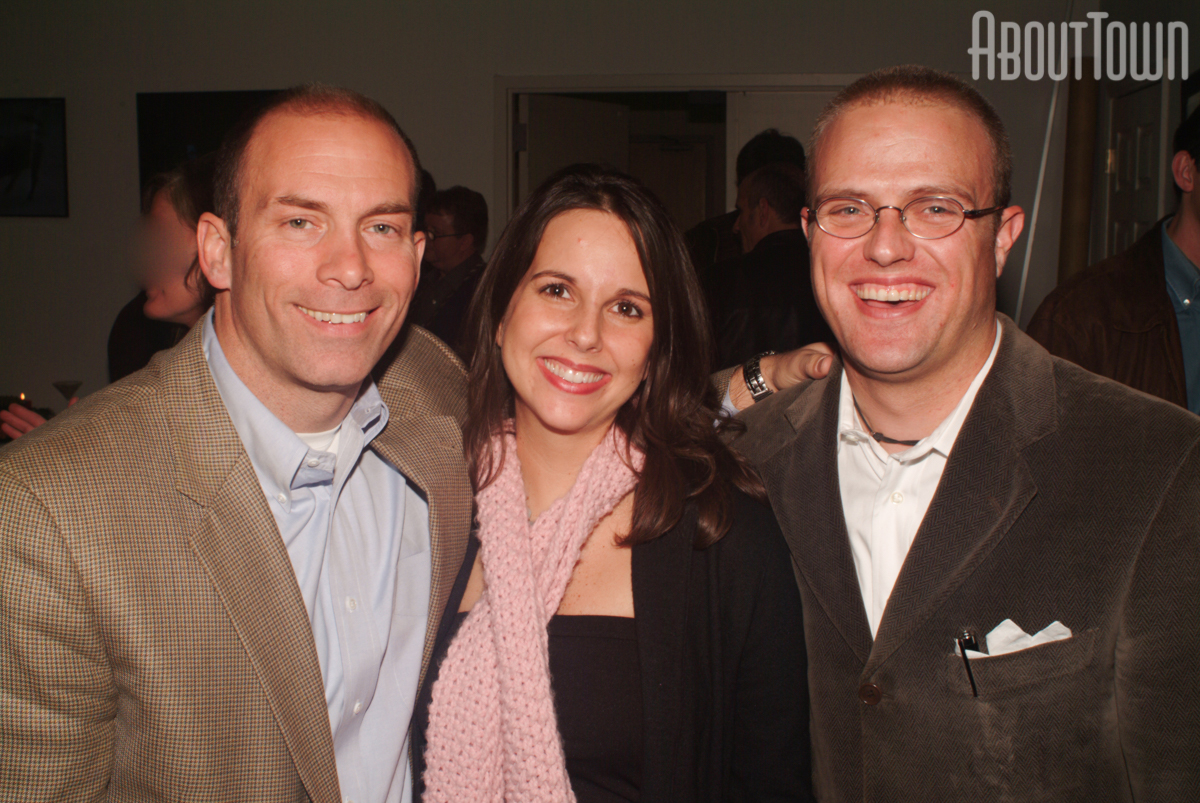 Scott Myers, Claire Myers, Josh Leachman