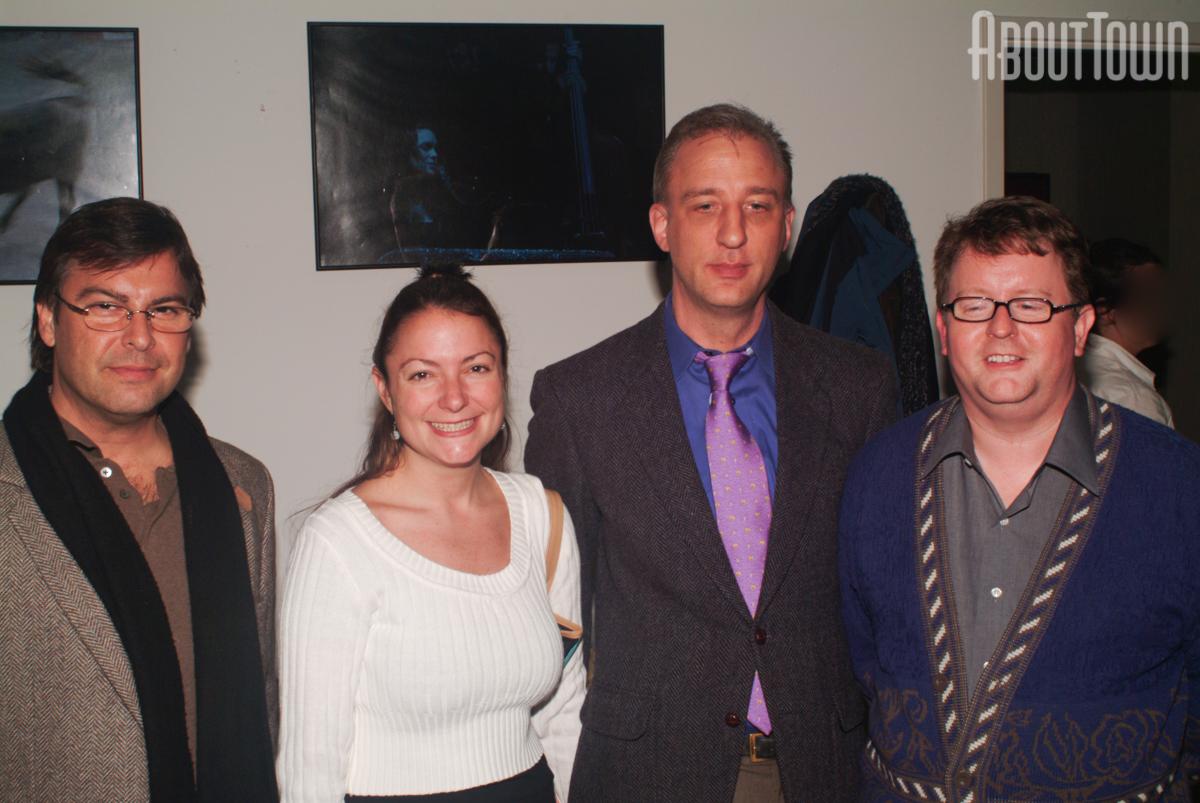 Michael Alfano, Gabrielle Matz, Andrew Duxbury, Tommy Thompson