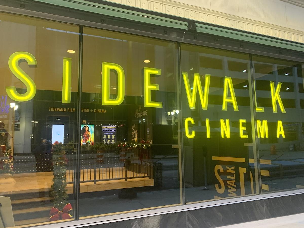 Celebrate the Holidays with Sidewalk Cinema