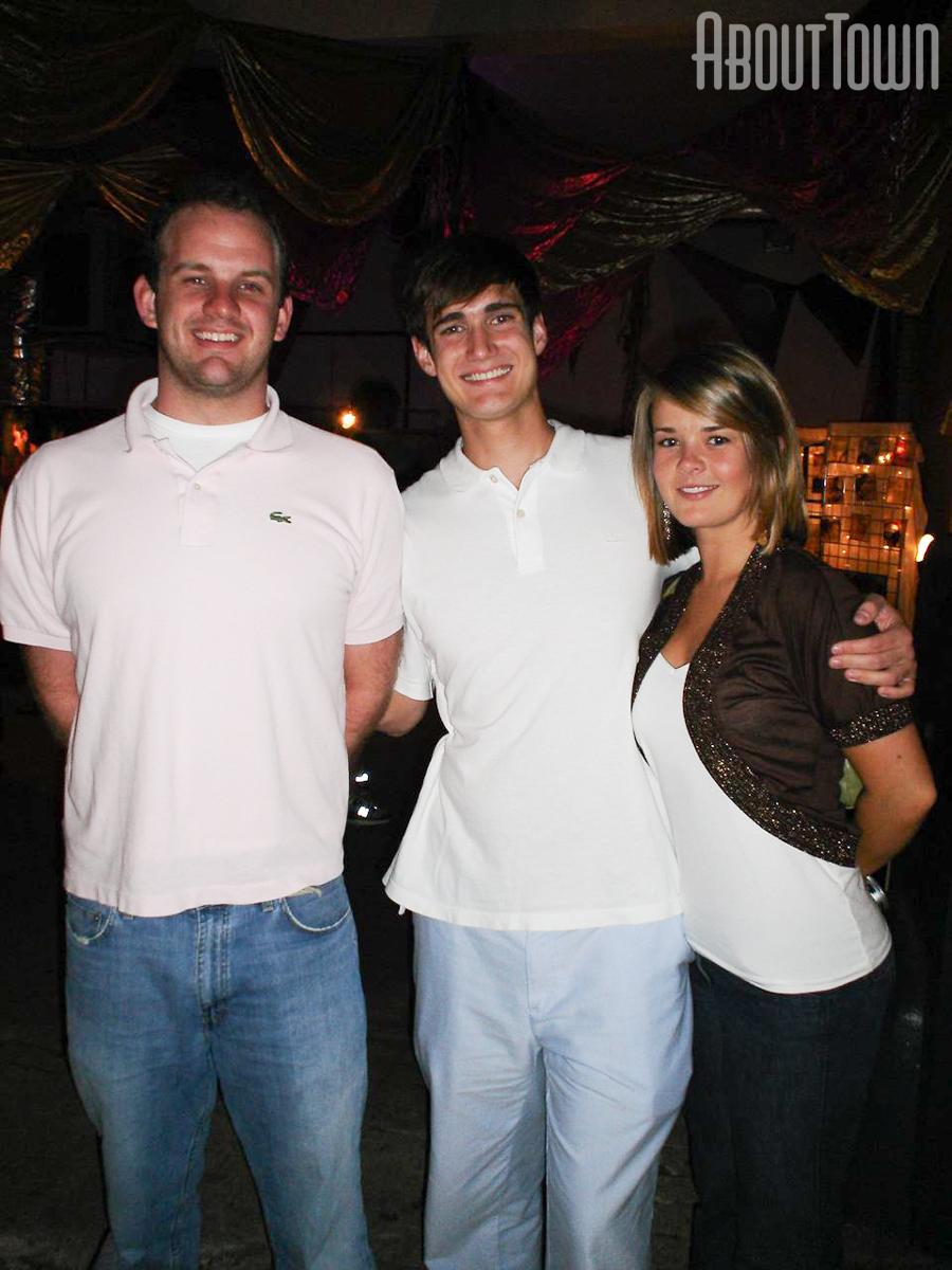 Matthew Figh, Chris Thrasher, Brooke Hopkins