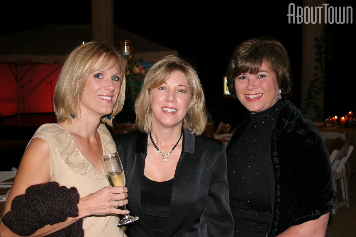 Laura Vogel,  Kathy Whatley, Patty Badham