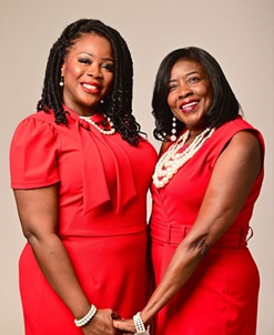 Real Women 2021 mother and daughter Lucy and Ovuke Emonina McCoy