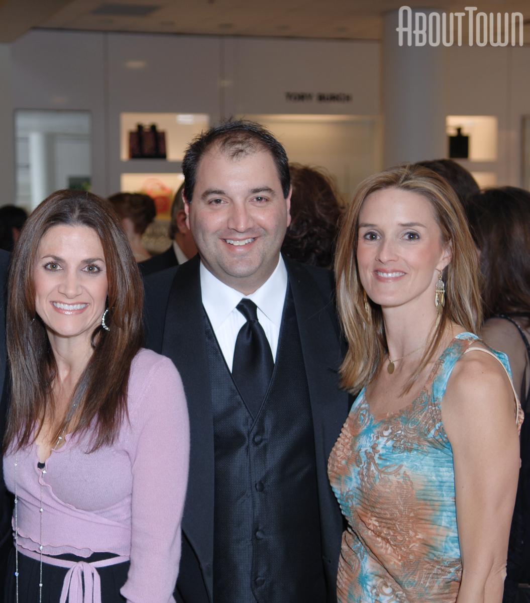 Danielle Welden, George and Kristen Carbonie