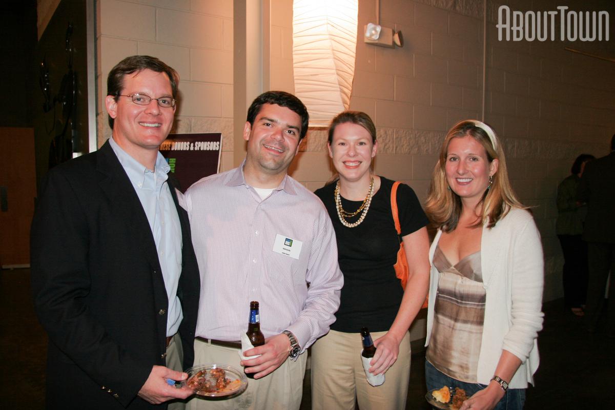 Ed Sledge, Andrew Nix, Rebecca Hiller, Emily Forman