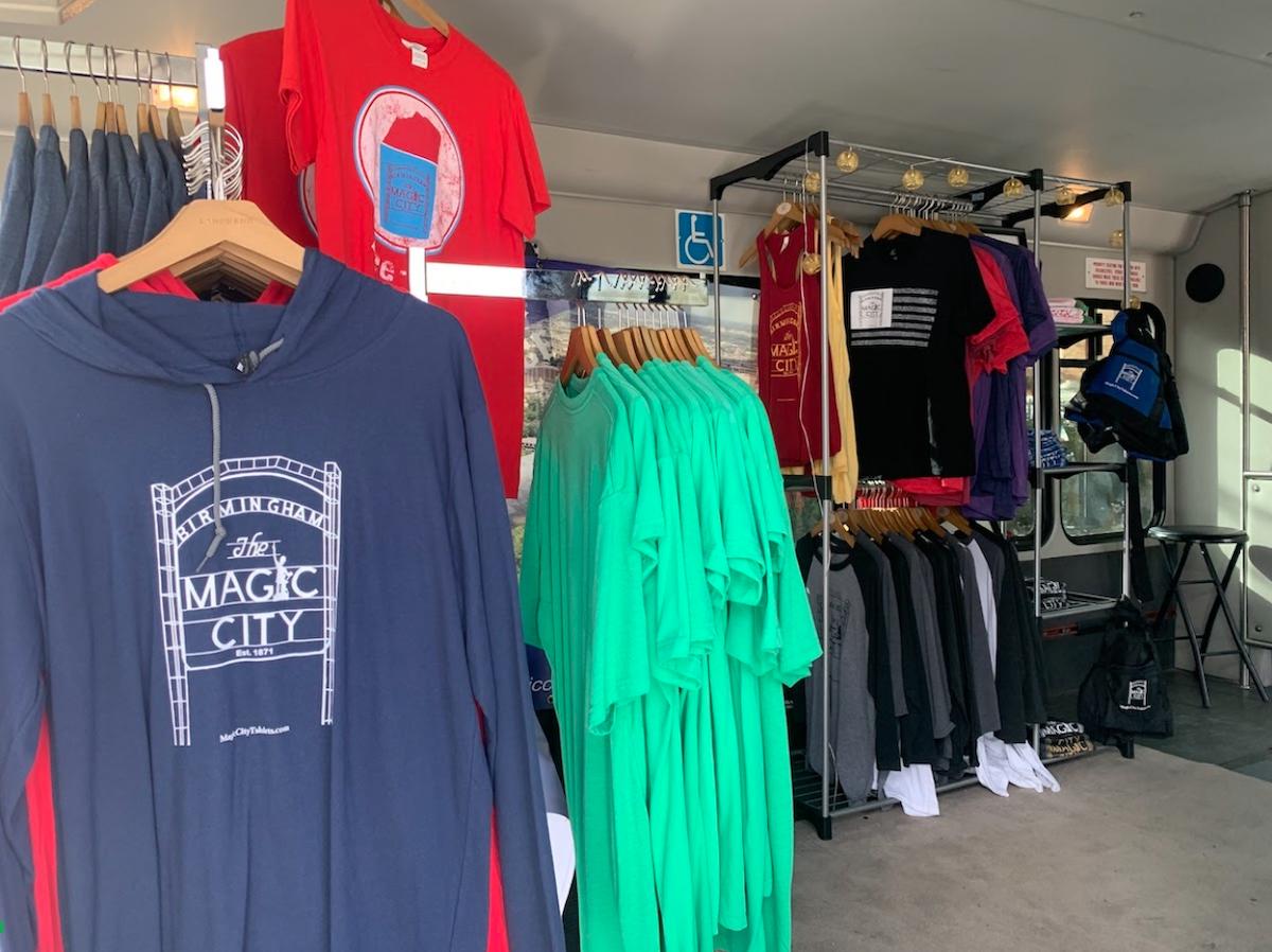 Birmingham's Magic City T-shirt Goes Mobile