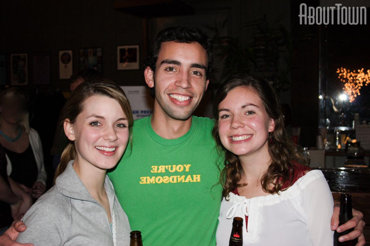 Lauren Lanehart, Doug Comstock, Casey Wagner