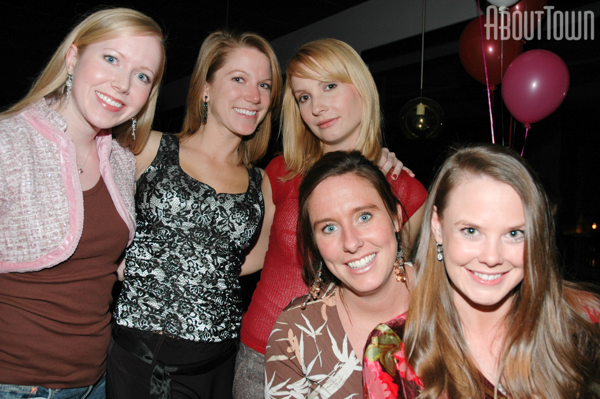 Leslie Cooper, Lacey Bacchus, Arden, Ashley Copeland, Amy Bailey