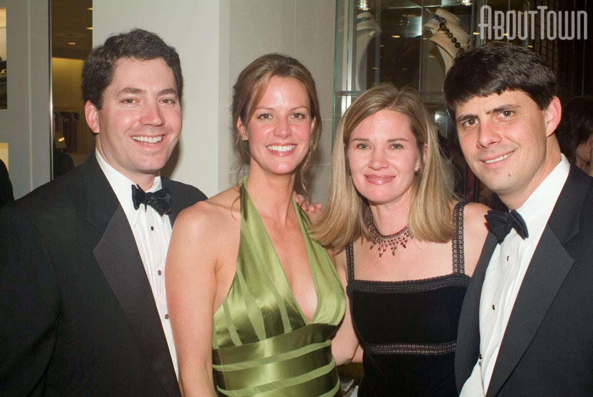Lyle and Jill Cain, Gina and Harlan Winn