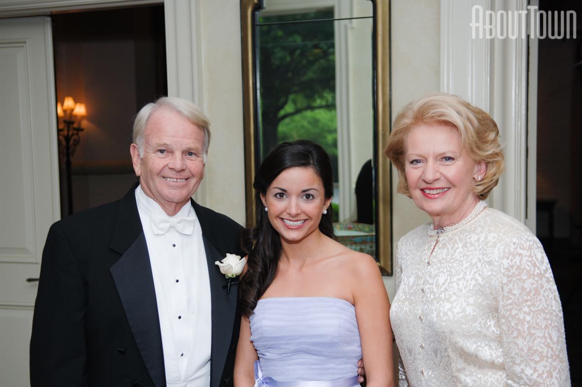 Joe and Angelia Brady, Mary Hollis McCollum