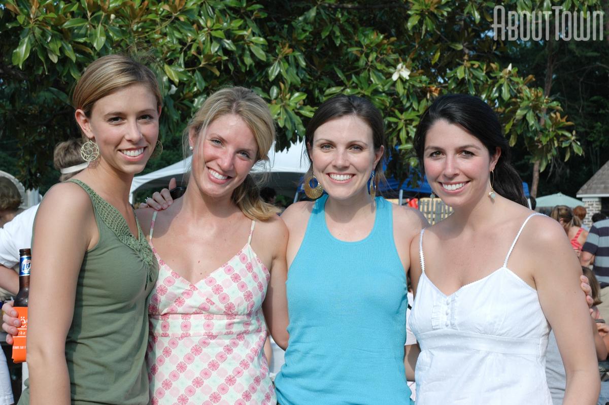 Katherine Brooks, Katie Taylor, Catherine Curtis, Jennifer Sirmon