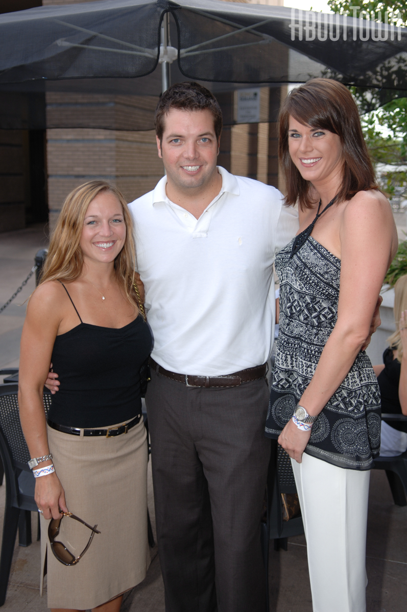 Ashley Booher, Clint Choate, Sara Wallace