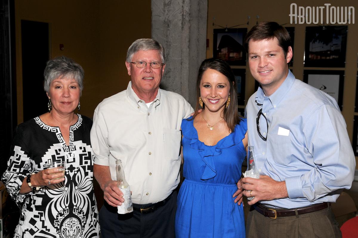 Mary and Denman Slocum, Kelsey and Austin Blair
