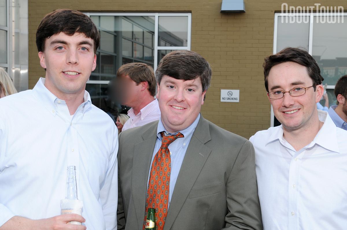 Seton Marshall, Bains Fleming, Jamie Gregory