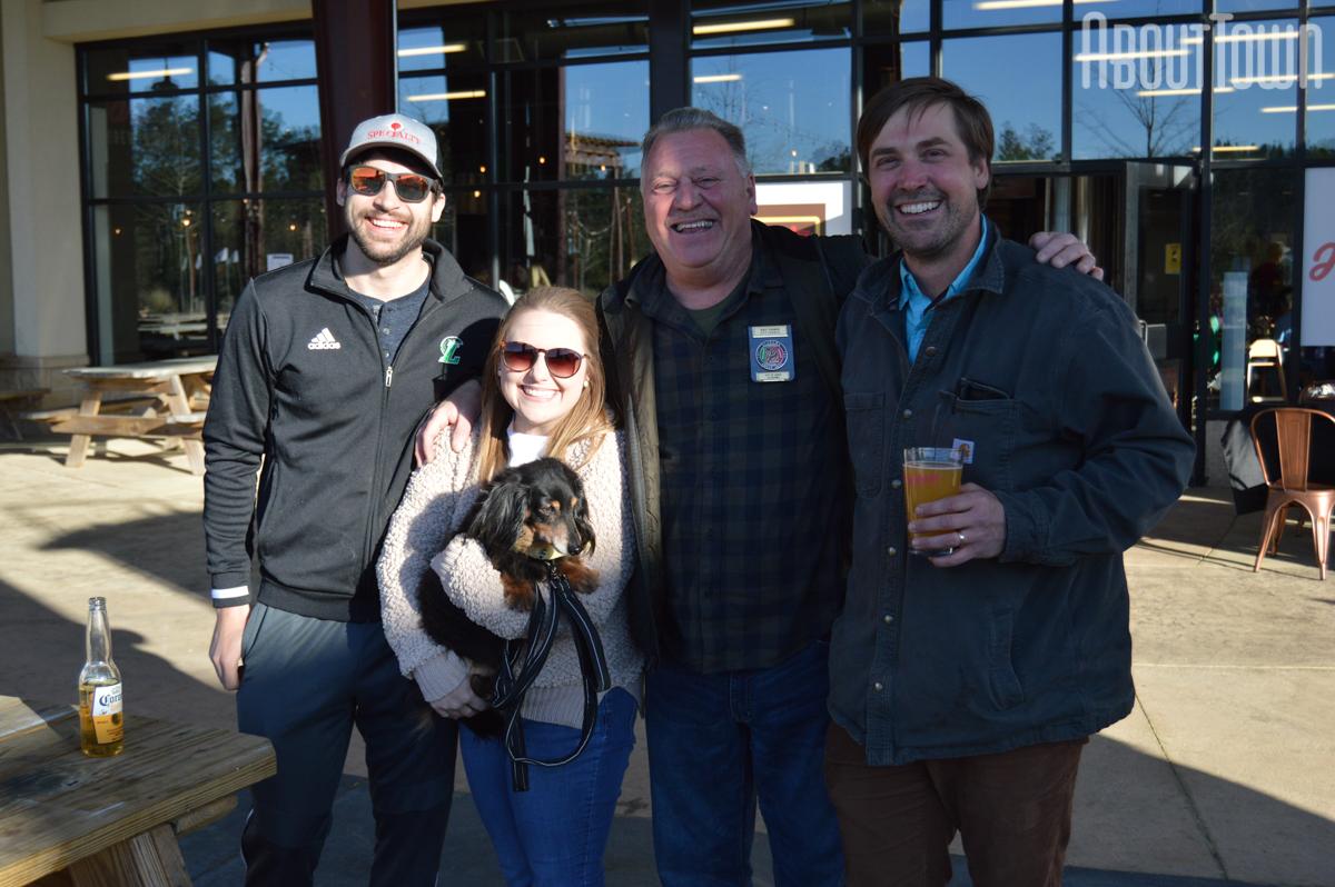 Hunter Lake, Eric Turner, Elise Stockman, Sam Stockman