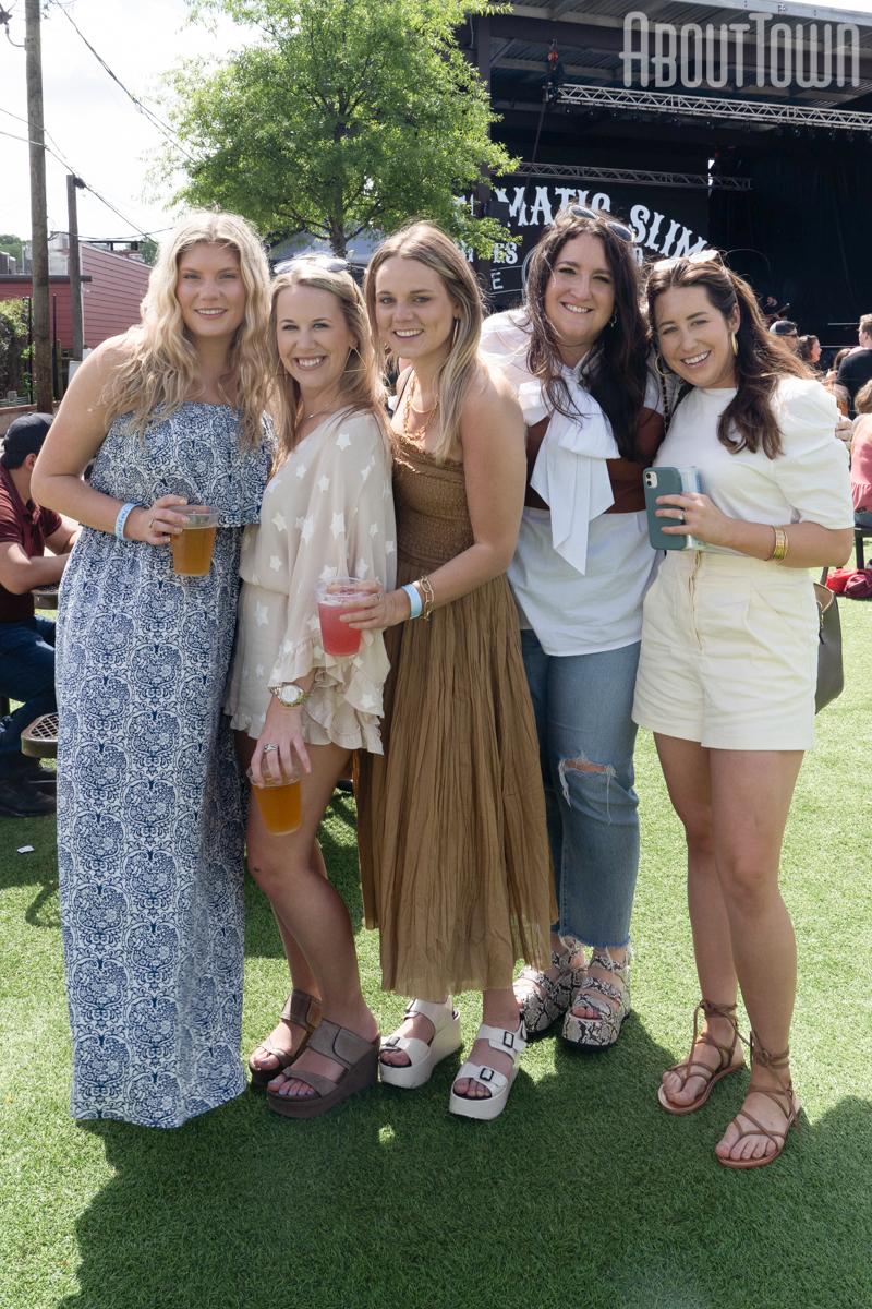 Emily Thomas, Shannon Rice, Katie Seale, Olivia Hamilton, Liz Maddux