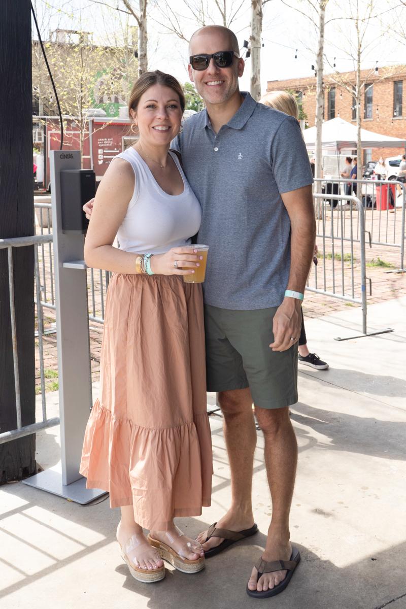 Samantha and Matt Sadler