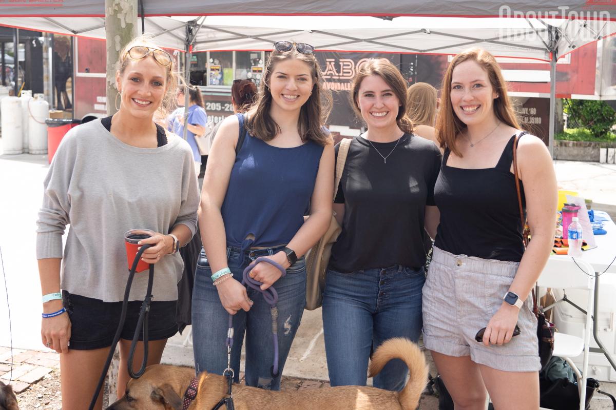 Katherine Boyd, Virginia Hammond, Audrey Torkar, Julia Kee
