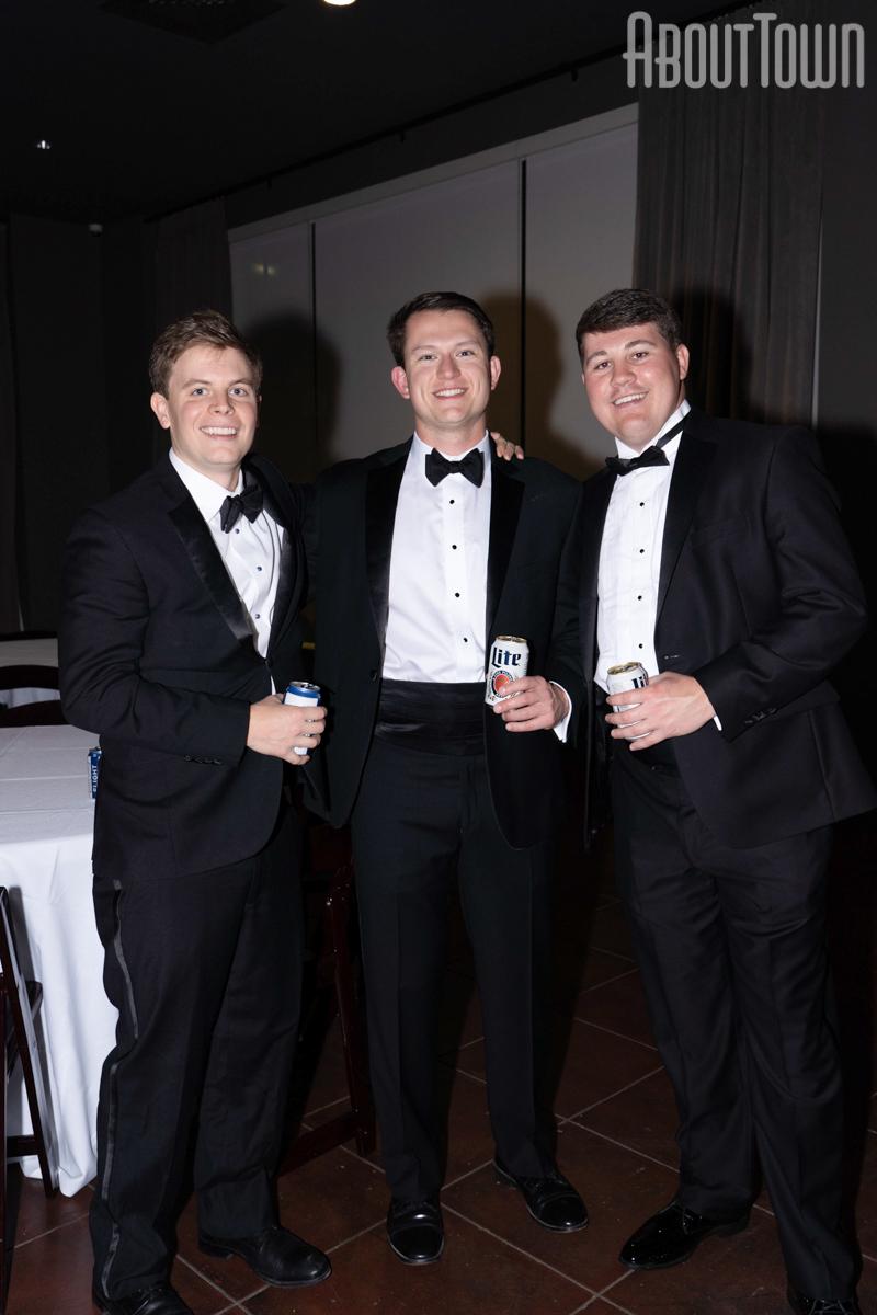 Mac Parker, Brett Walton and Blake Davis