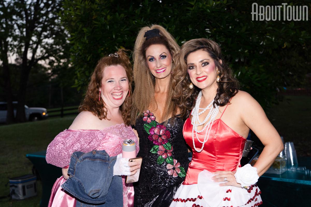 Anne Hall, Britney Bernstein, Morgan Kelly
