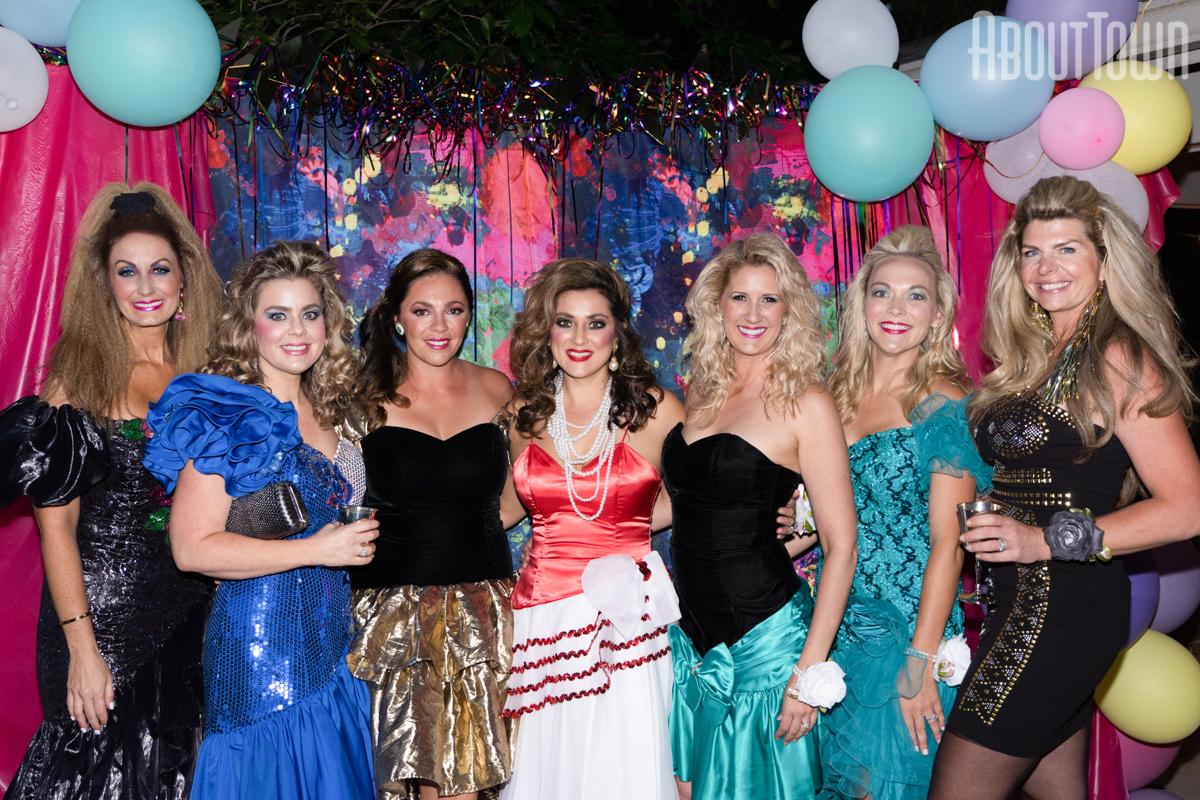 Britney Bernstein, Whitney Weaver, Kibbe Jones, Morgan Kelly, Krisalyn Crye, Rachel Holt, Katie Parnell Robinson