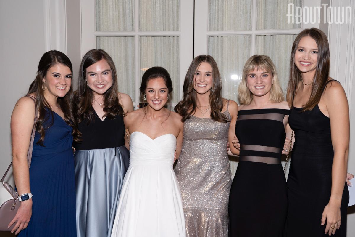 Maddie Wellbaum, Sarah Stephenson, Katie Glenn, Ashleigh Patterson, Amelia Williams, Sophia Rosene