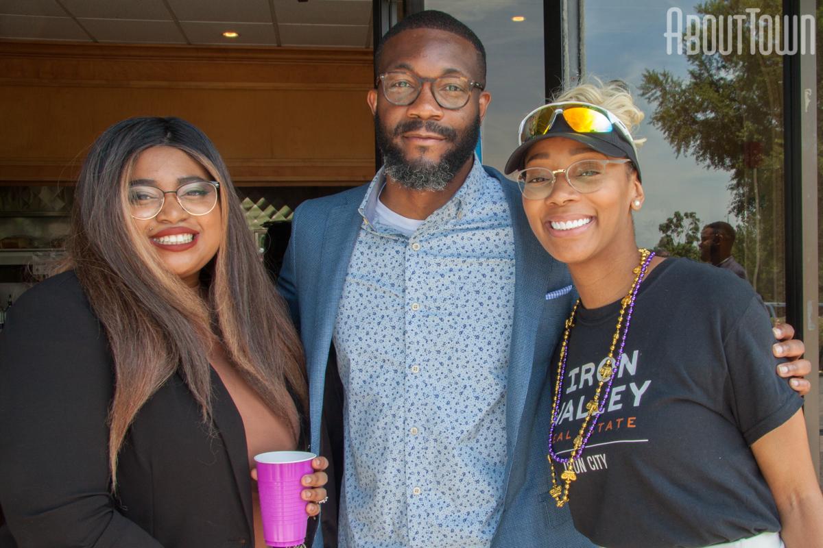 Sara Davis, Mayor Randall Woodfin, Kendra Morris