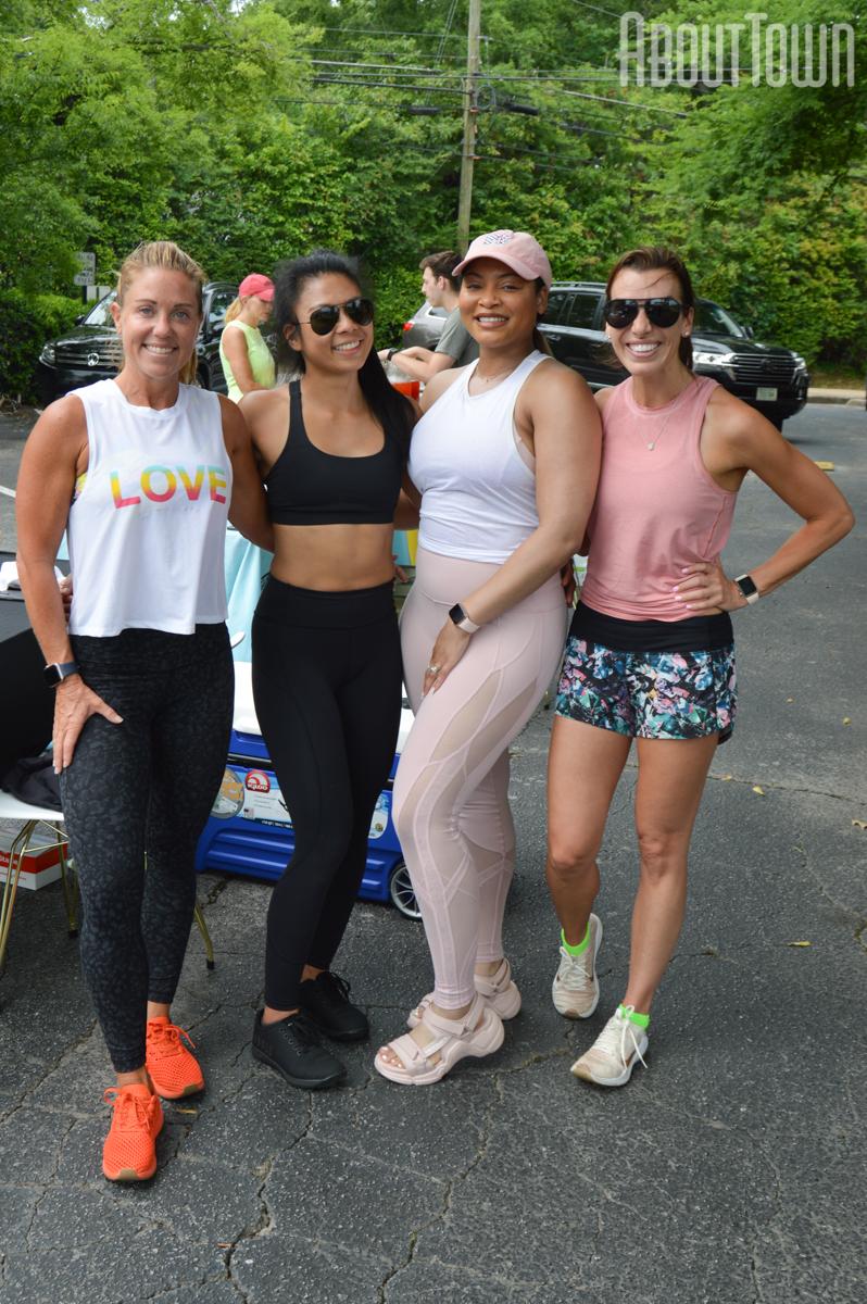 Mary Frances Osborn, Sai (Sunny Sai Up), Jasmine Jones, Ashley Seligson