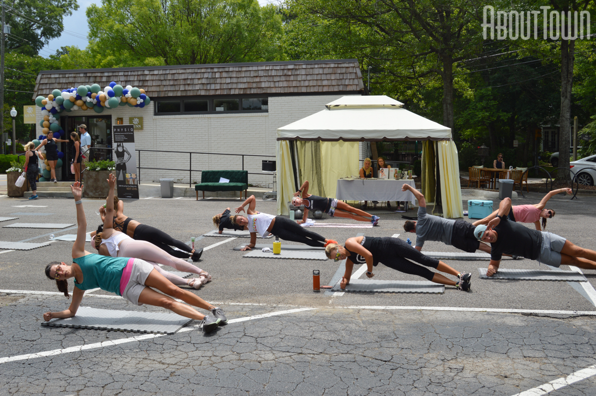 HIIT Workout with Janet Fit to Serve