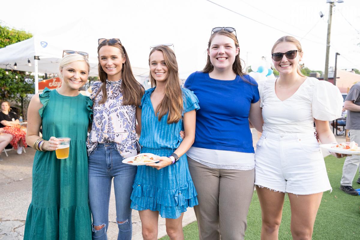 Maddison Bromberg, Carley Browder, Carey Browder, Katherine Nally, Amelia Peach