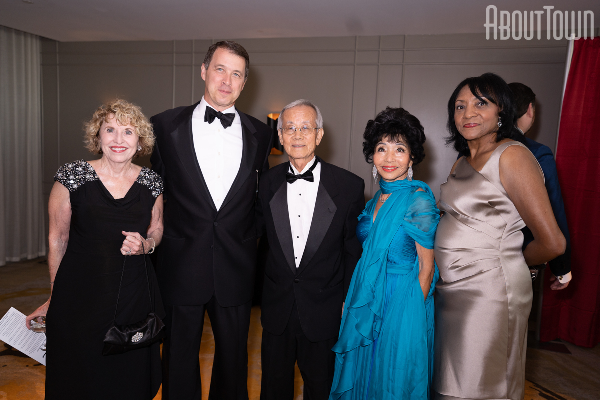 Rebecca Green, Richard Grimes, Dr Robert and Julie Kim, Sharon Spencer