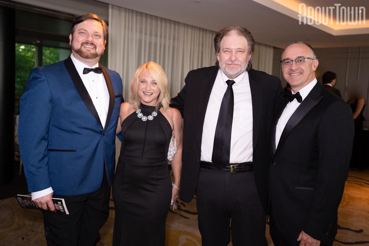 Mike and Shelley Shaw, Rick Bragg, Dr John Fiveash