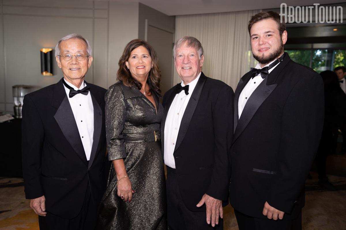 Dr Robert Kim, Mona Stephens, Jim Stephens, Matt Stephens