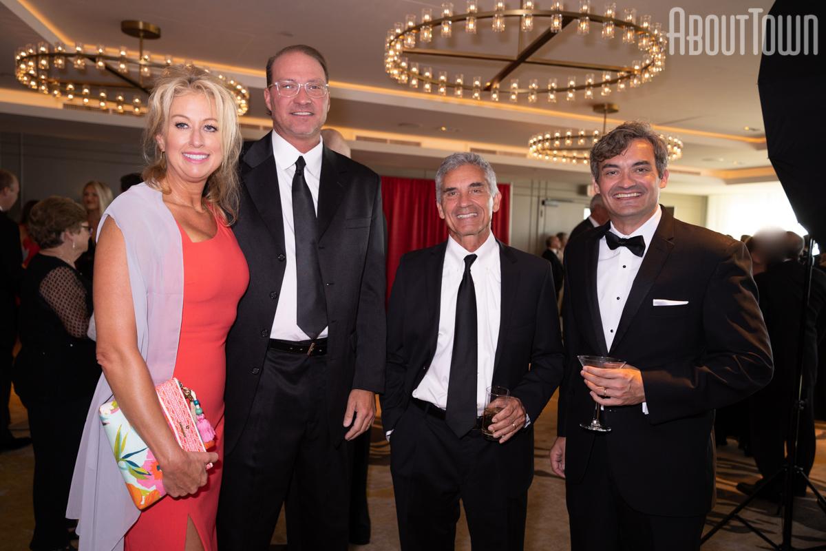 Victoria and Dale Benton, Senator Del, Justin Marsh