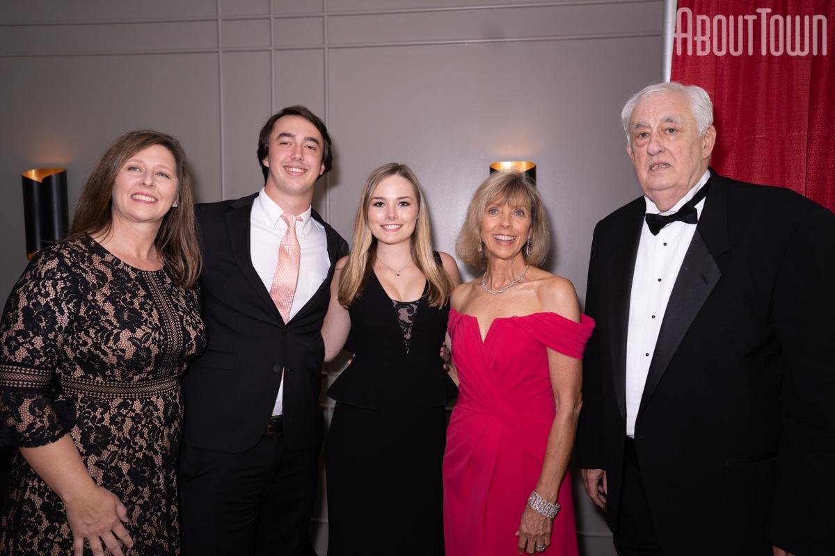 Tara Thompson, John Oliver Thompson, Abigail Courtney, Martha and Richard Thompson