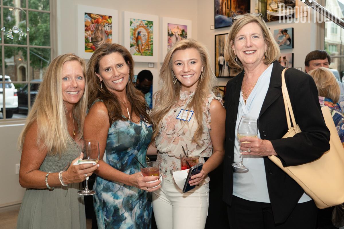 Marcy Costa, Valerie and Abbie Richenderfer, Ginna Blaylock