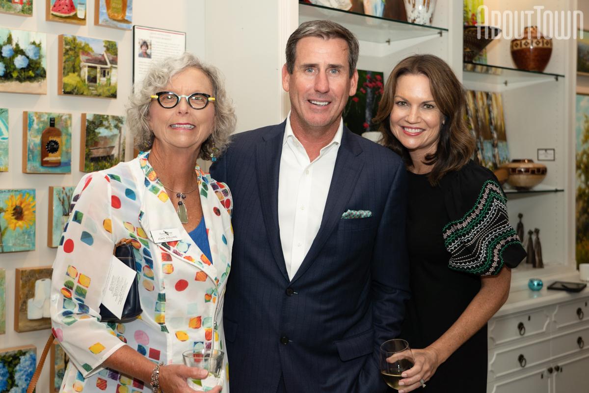 Joan Stelling, Matthew and Jen Dent