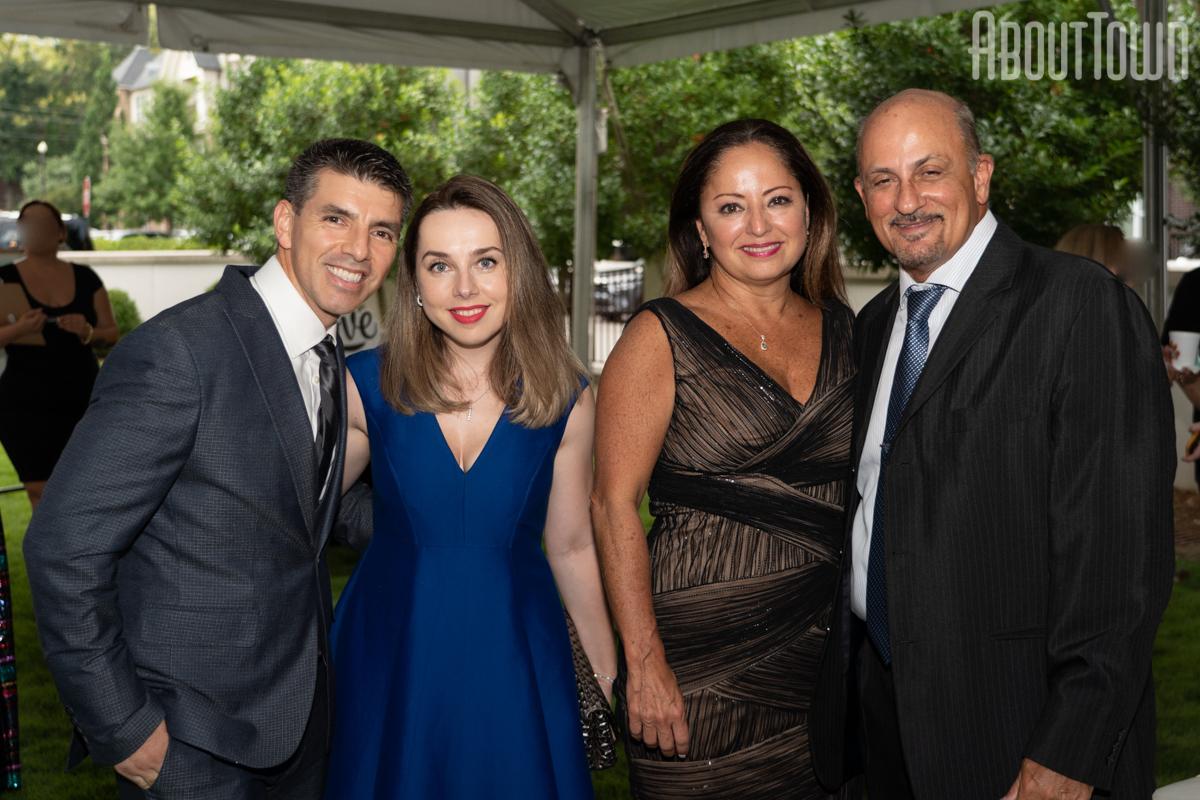Luis Gutierrez, Iryna Chucherilova, Dee and Walter Carvalho