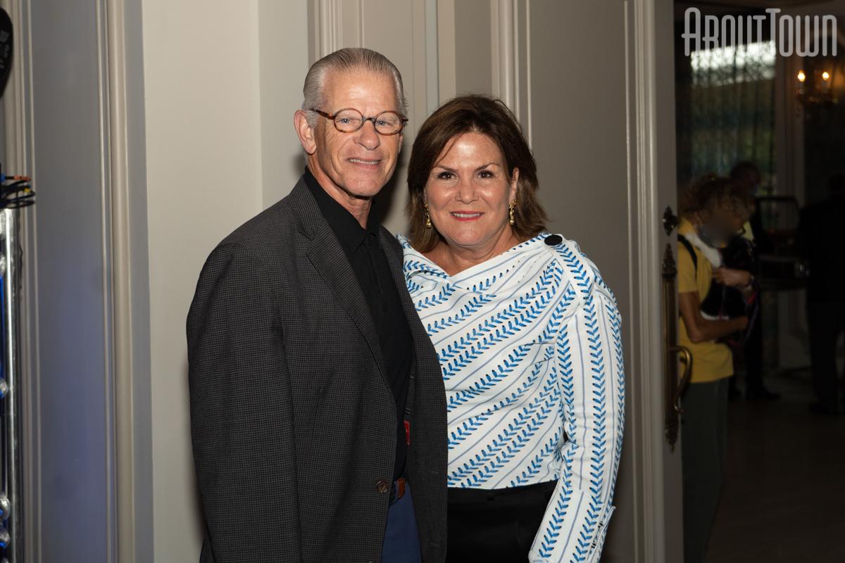 Dr Jim and Katie Lasker