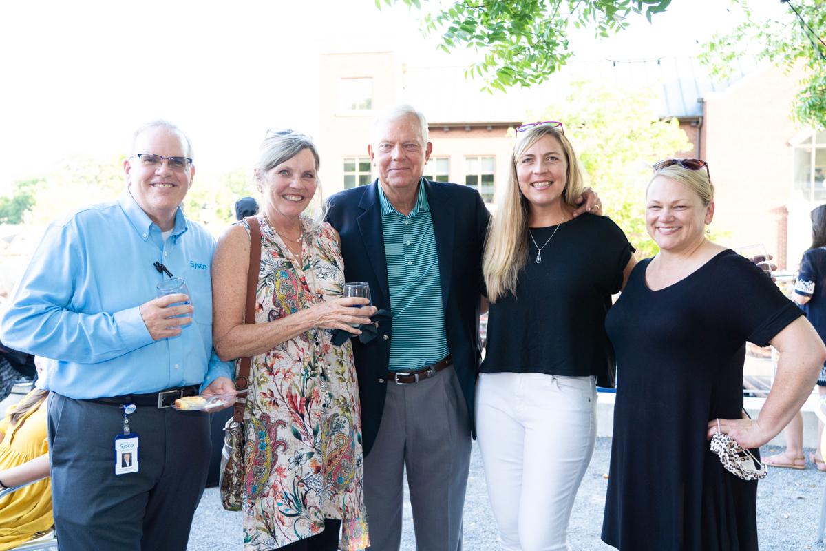 Mark Niffenegger, Phyllis, Jake, and Aly Wood, Lori Crawford