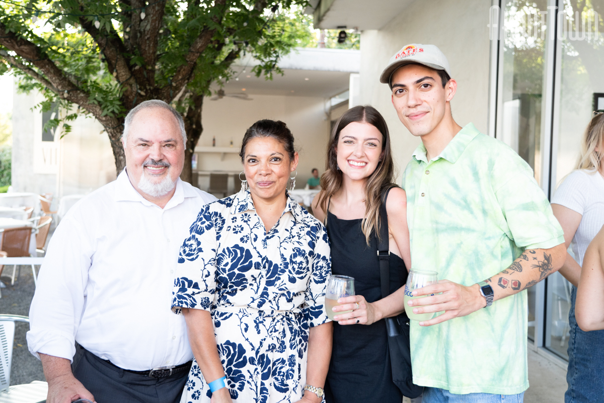 Charles Cargal, Julia Medina, Allie Smith, Sherwin Marashi