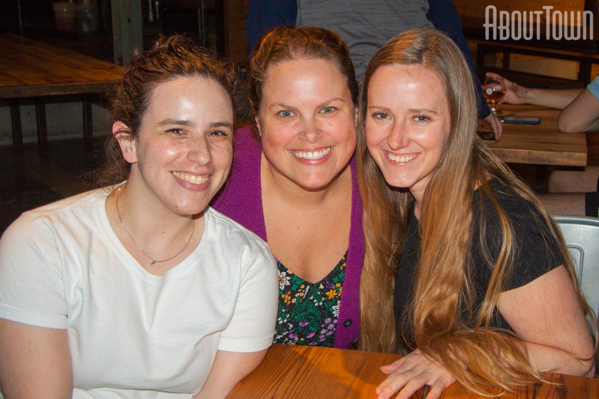 Sarah McLain, Kathleen Bright, PK Kosky
