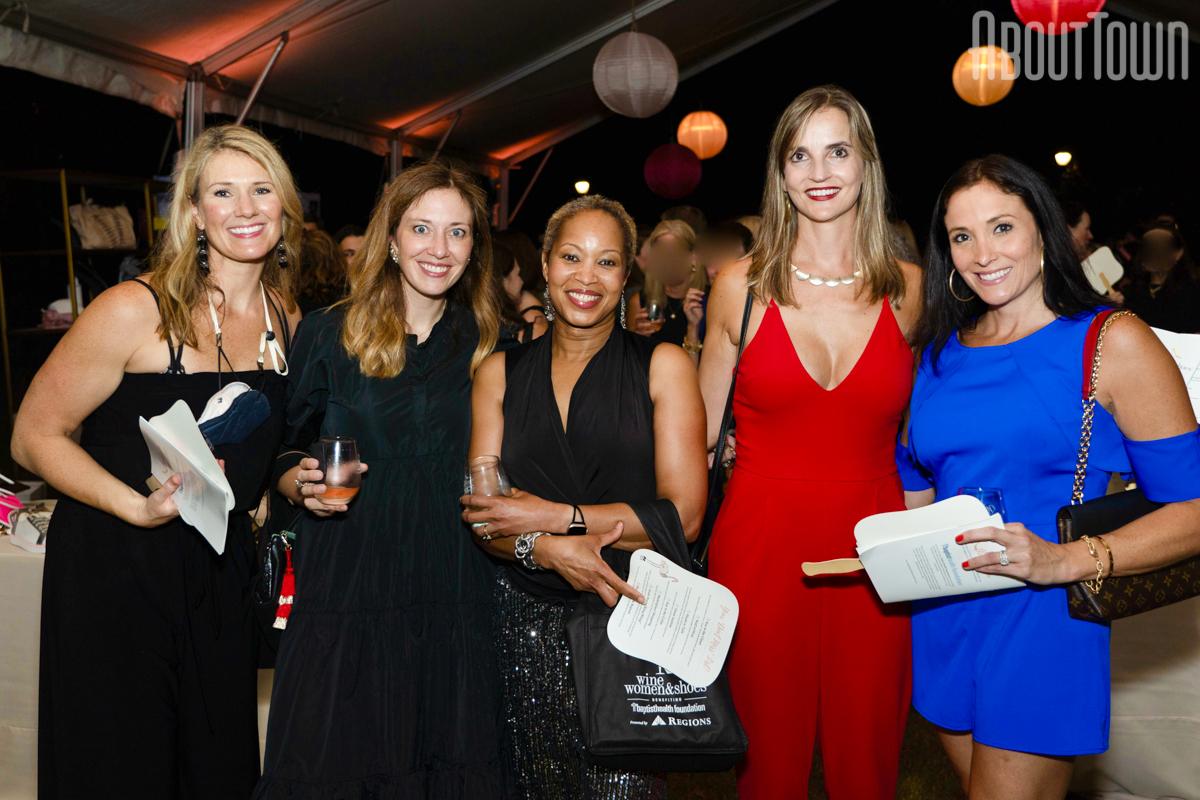 Erin Townsley, Starr Steinhilber, Katisha Vance, Lisa Fox, Katherine Sparks