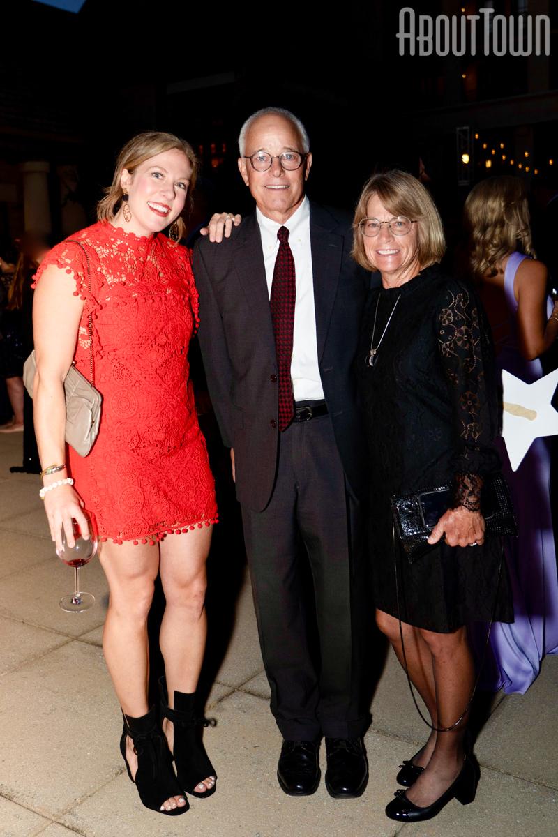 Joanna Peters, David and Teri Lott