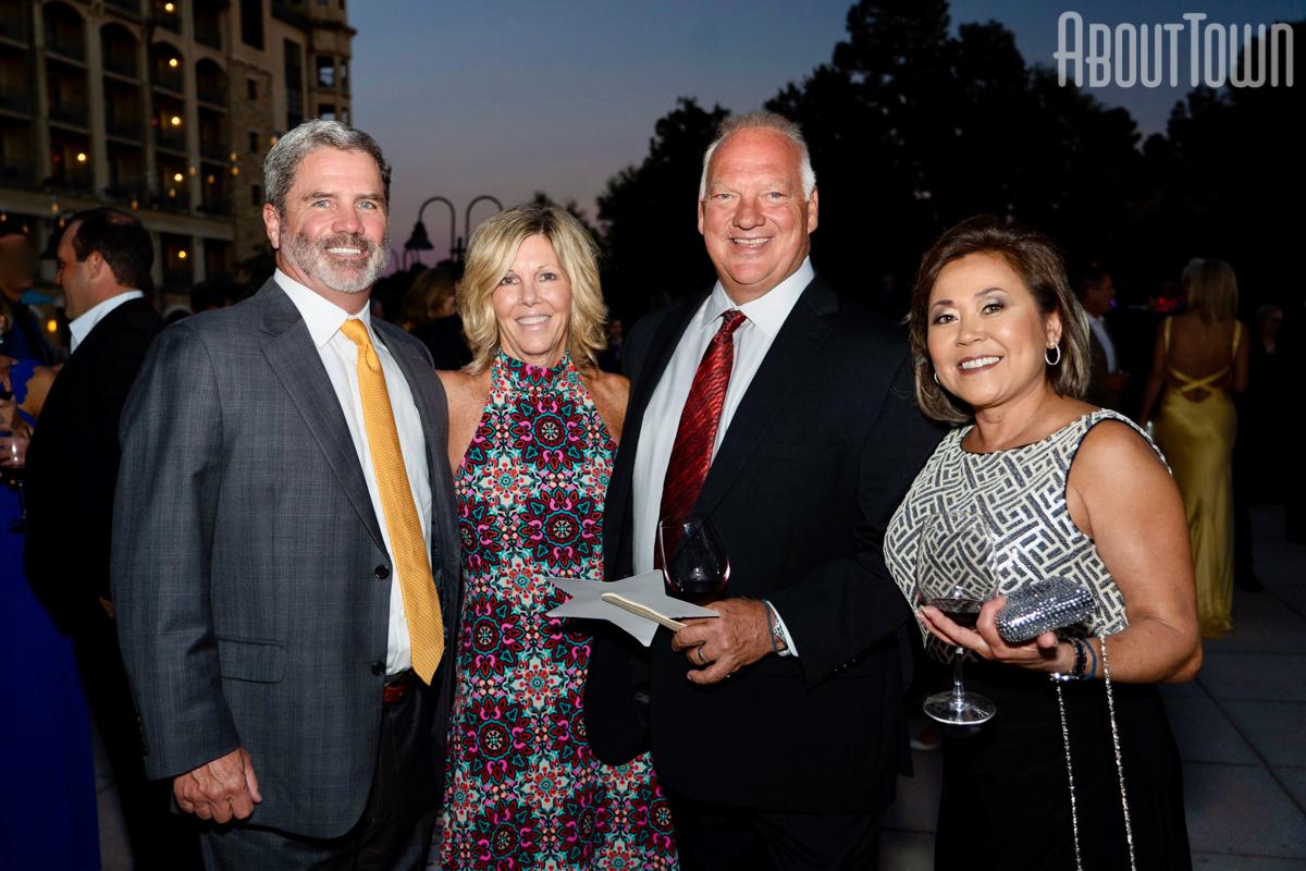 Pat and Lynn Cogburn, Robert and Lulu Regard