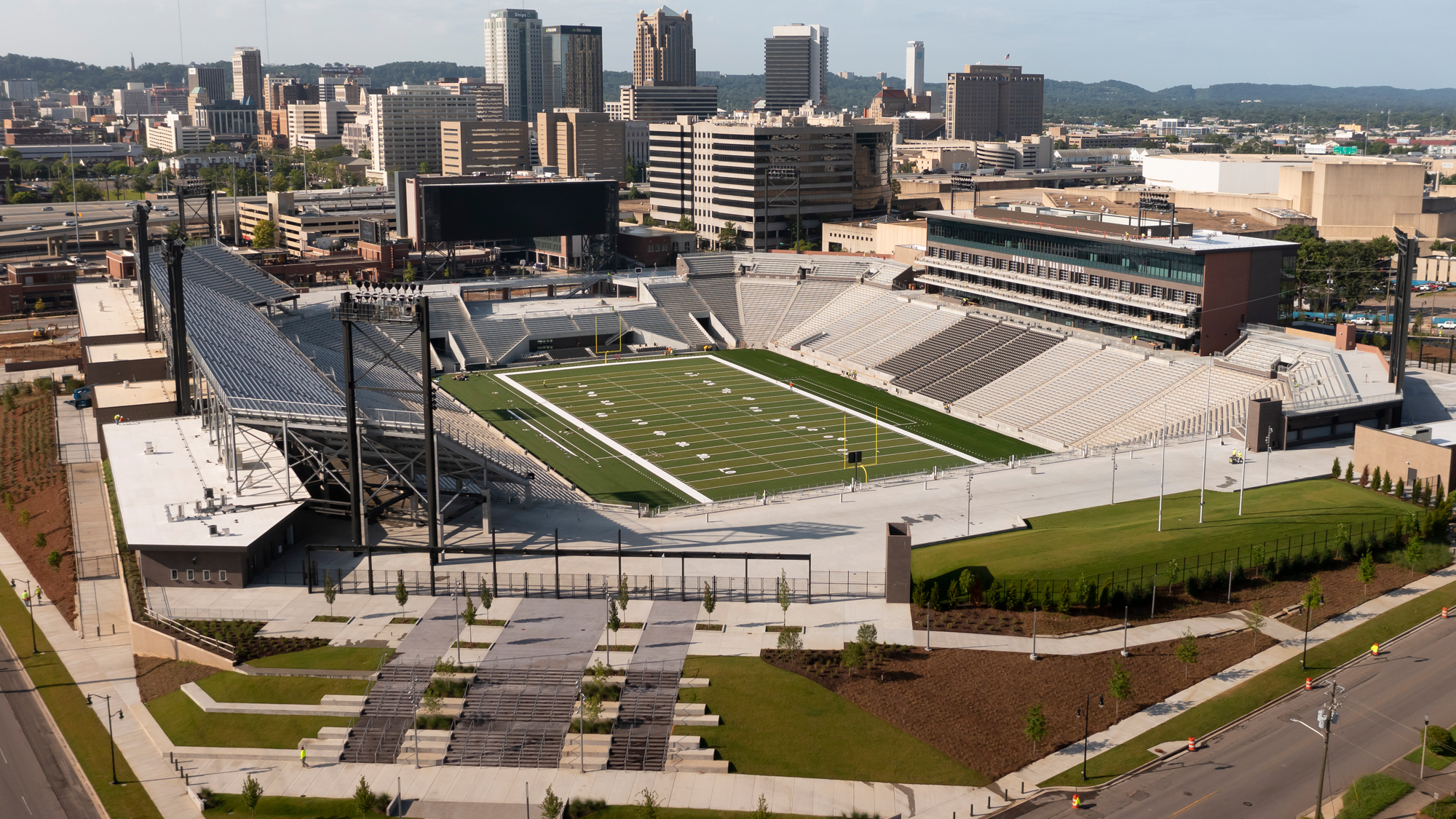 'Just eternally grateful': UAB fans celebrate first home game in new stadium