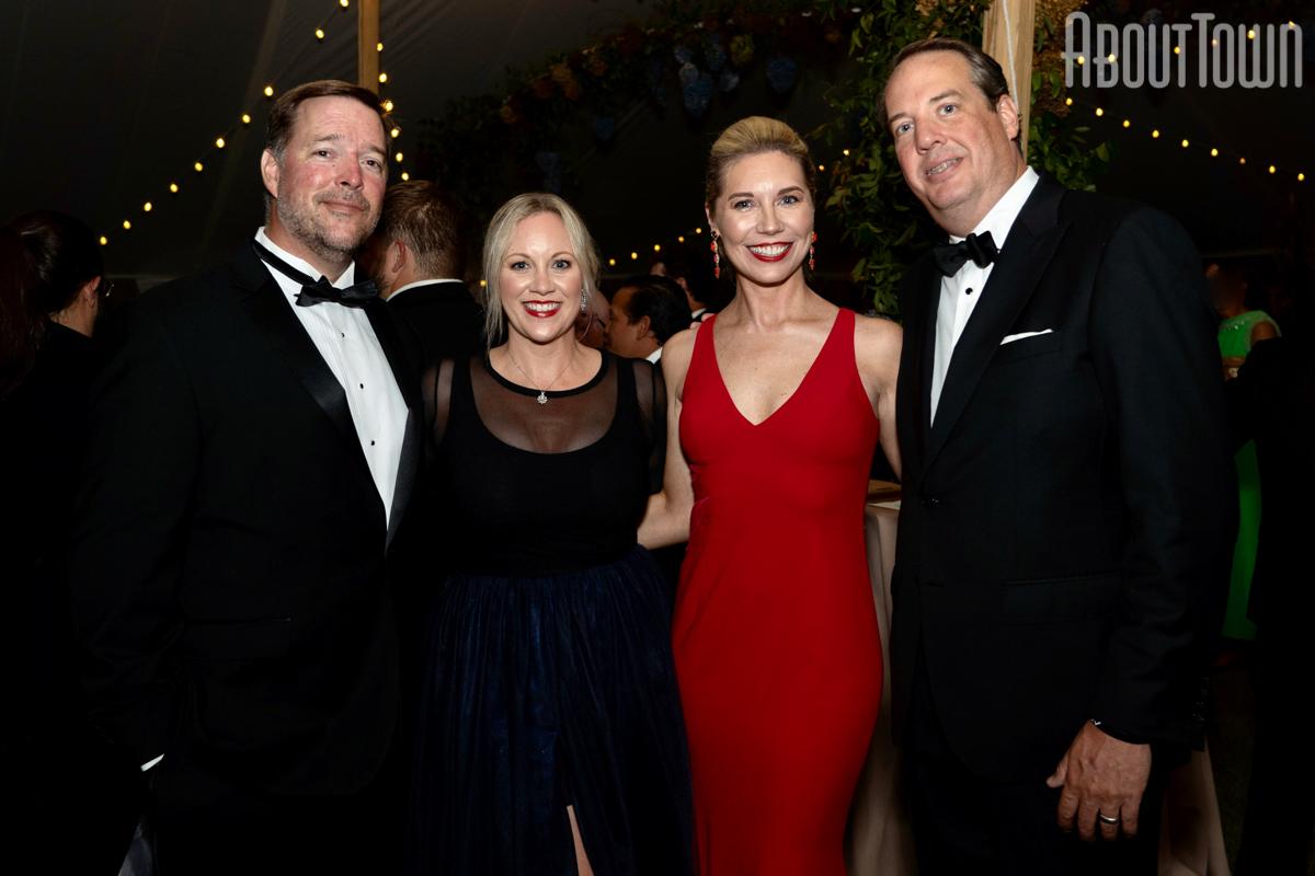 Jeff and Amanda Hickman, Katherine and David Whitson