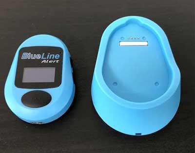 blueline alert kastje plus oplader