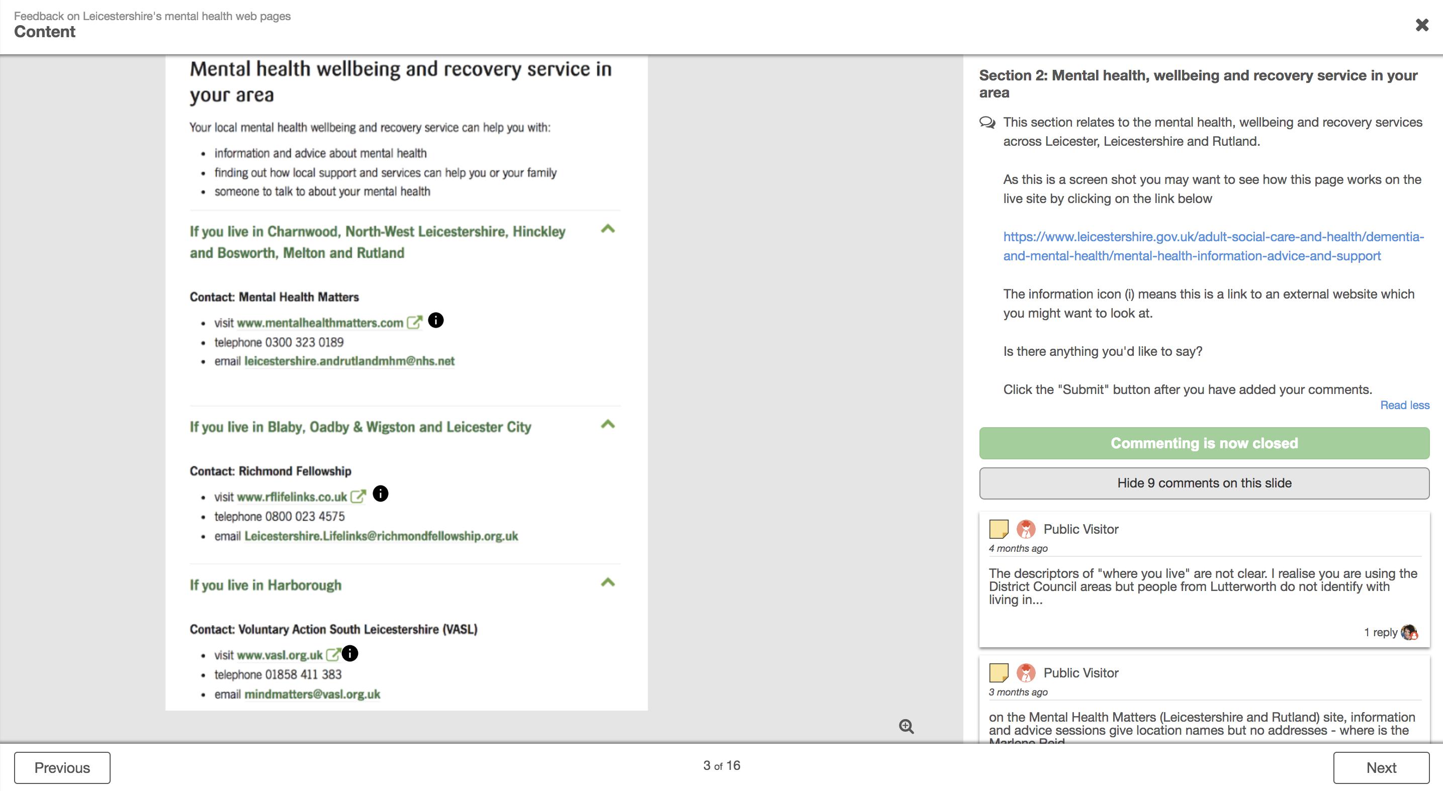 Leicestershire website forum